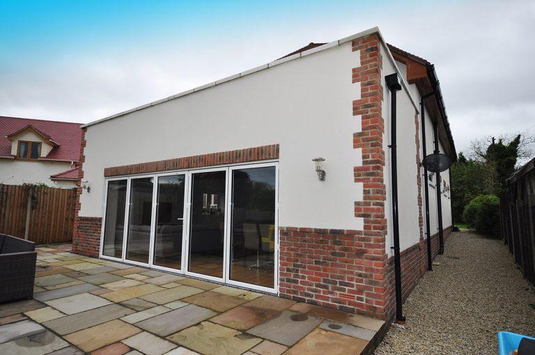 External Rendering on New Build – Catherington